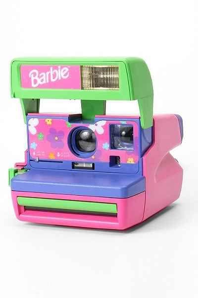 barbie polaroid instant camera! I totally had this exact one