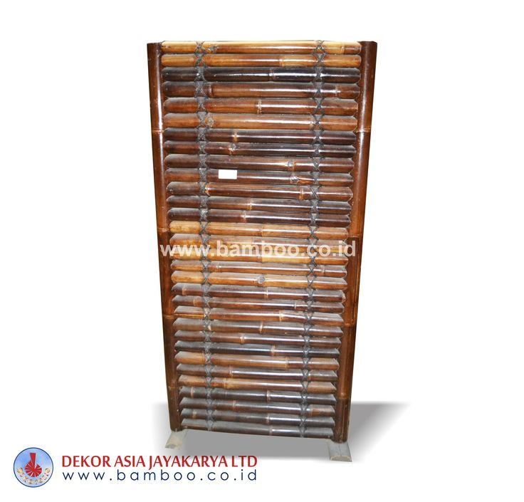 Halft Black Bamboo Fencing Horizontal