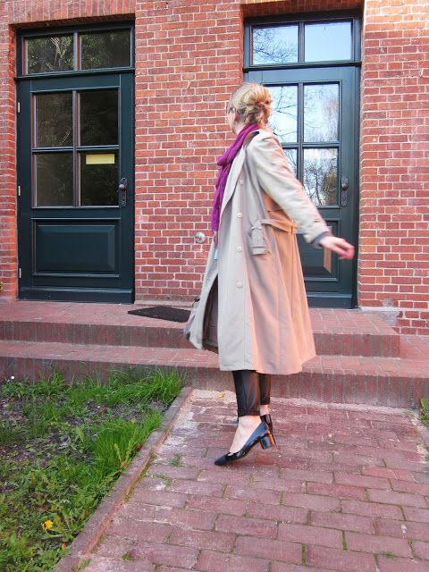 Fashion translated: Outfit: I love classics Trenchcoat