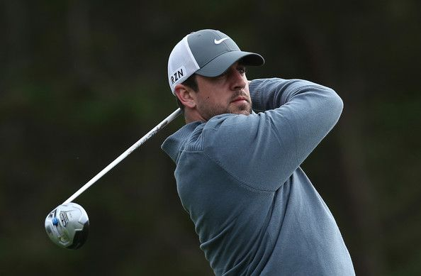 Aaron Rodgers - AT&T Pebble Beach National Pro-Am: Round 2