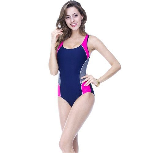 TRIKINI Athletic Competition Maillot de bain Sports Bodysuit Triangle Swimwear Women Brand Swimsuit Slimming Bathing Suit