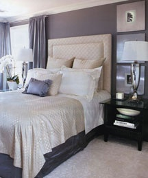This room I designed for The Hampton's Cottages and Garden's Magazine, I was excited to work with a gray and cream color palette but still make it feel warm and inviting!
