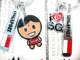 Cute little key chain designed by students! Check it out at http://www.singaporecitytour.com.sg