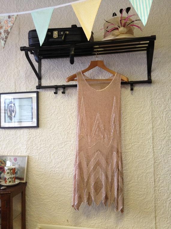 ... | Pinterest | Vintage Flapper Dress, Flapper Dresses and Flappers