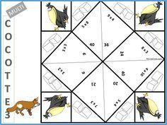 Multi cocottes : Tables de multiplication CE1 CE2