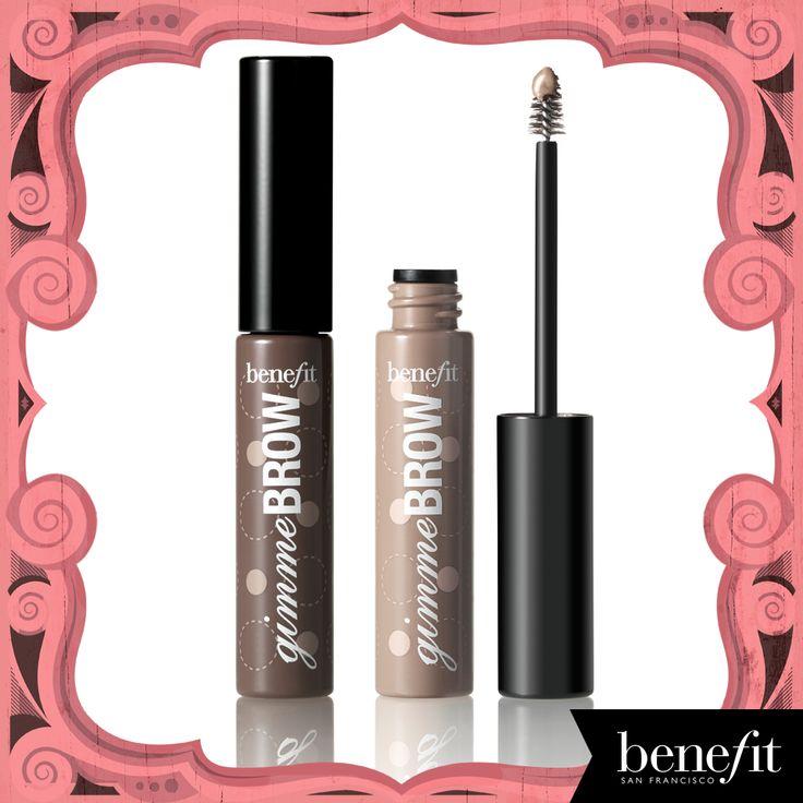 brow-volumizing fiber gel #benefitbeauty