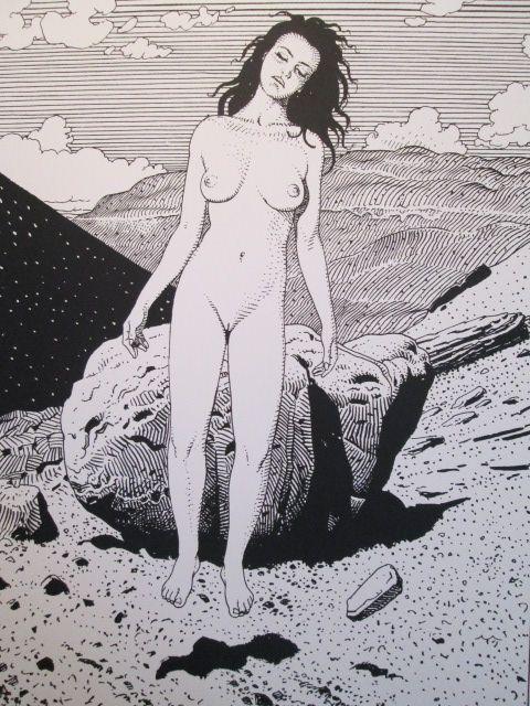 Portfolio Histoire d'X, Moebius, Stardom, disponible sur entre-image!