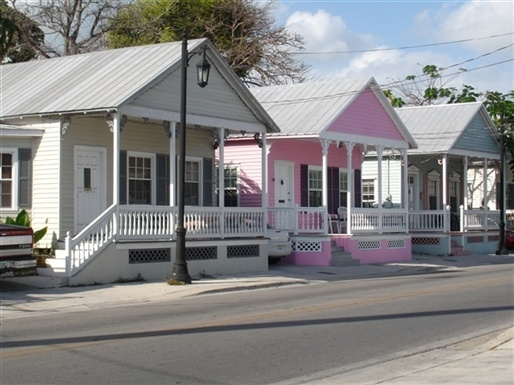 ...Key West Conch houses.