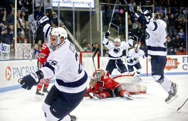 UNIVERSITY PARK: Penn State men's hockey: Nittany Lions rally from 4 down, but fall in overtime to Ohio State | Hockey | CentreDaily.com