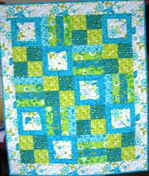 Quilt - love these colors!Photos Gallery, Quilt Ideas, Baby Quilts, Baby Patterns, For Kids, Quilts Baby'S Kids, Quilt Kits, Quilt Precut Pattern, Kids Quilt