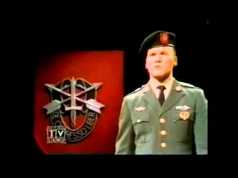 Ballad of the Green Berets - [HD] - - - SSGT Barry SADLER === I remember when this was on the radio!