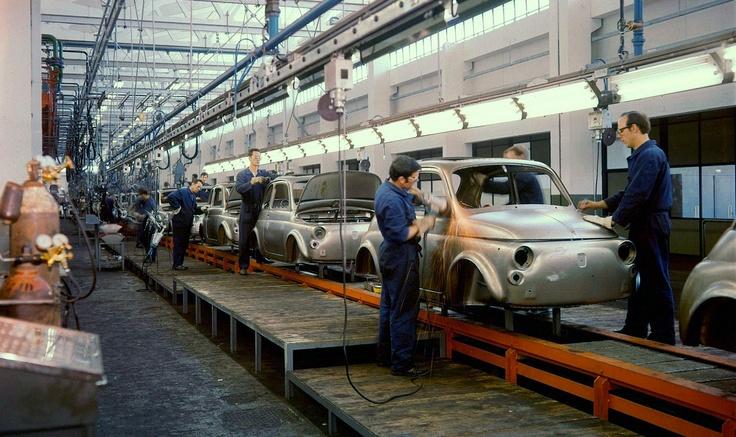 Fiat 500 Assembly Line Fiat 500 Automobile E Veicoli