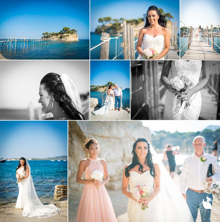 Throwback to our Zante bride, Naomi, a few moments before her big moment! #storystudios