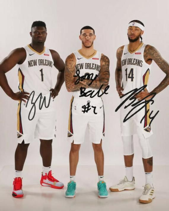 Lonzo Ball Brandon Ingram Zion Williamson New Orleans Pelicans Etsy Brandon Ingram New Orleans Pelicans Pelican