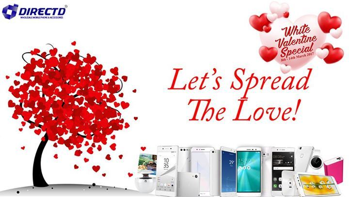 STILL GOING ON!!  Purchase the selected white smartphones and get special free gifts - only at DirectD's White Valentine Special, from 8th - 14th March 2017!  6 special models on sale just for you!!  1. Xiaomi Mi Note (white)-3GB RAM+ 64GB ROM - RM899 Free Gifts worth RM500 • Hotel Voucher  2. Huawei P9 Lite (white) RM999 Free Gifts worth RM500 • Hotel Voucher  3. Asus Zenfone 3 ZE520KL (white) RM1299 Free Gifts worth RM599 • Asus ZenPower 10050 mAh. • Hotel Voucher.  4. Asus Zenfone 3…