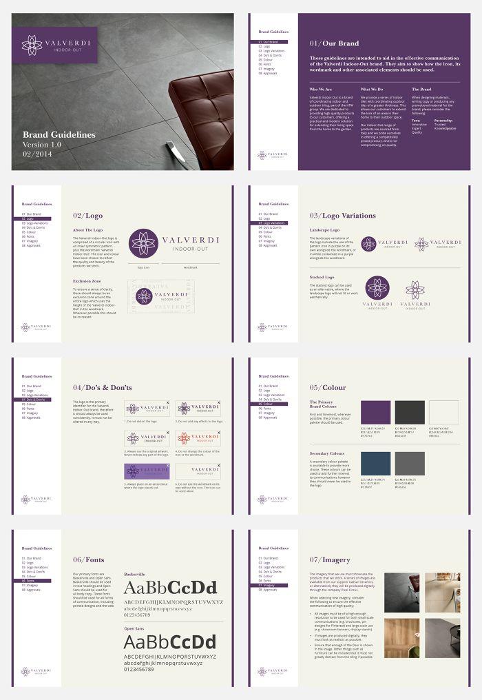 Valverdi Brand Guidelines.
