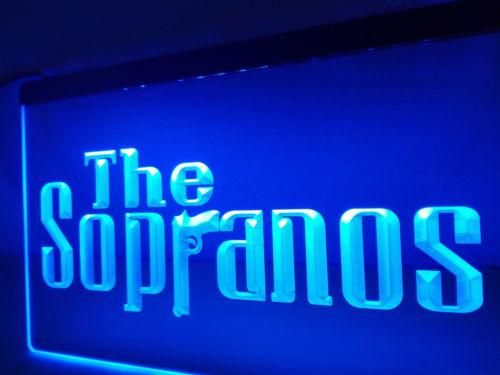The Sopranos Movie Crime Drink LED Neon Sign Light Plate