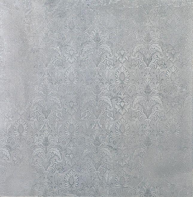 SG610802R Шелковый путь серый орнамент лаппатированный 60х60    пол  (фон стоит  1413 руб февраль не будет)