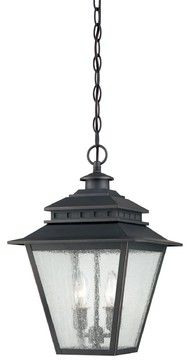 Quoizel CAN1911WB Carson Transitional Outdoor Hanging Light transitional-outdoor-lighting