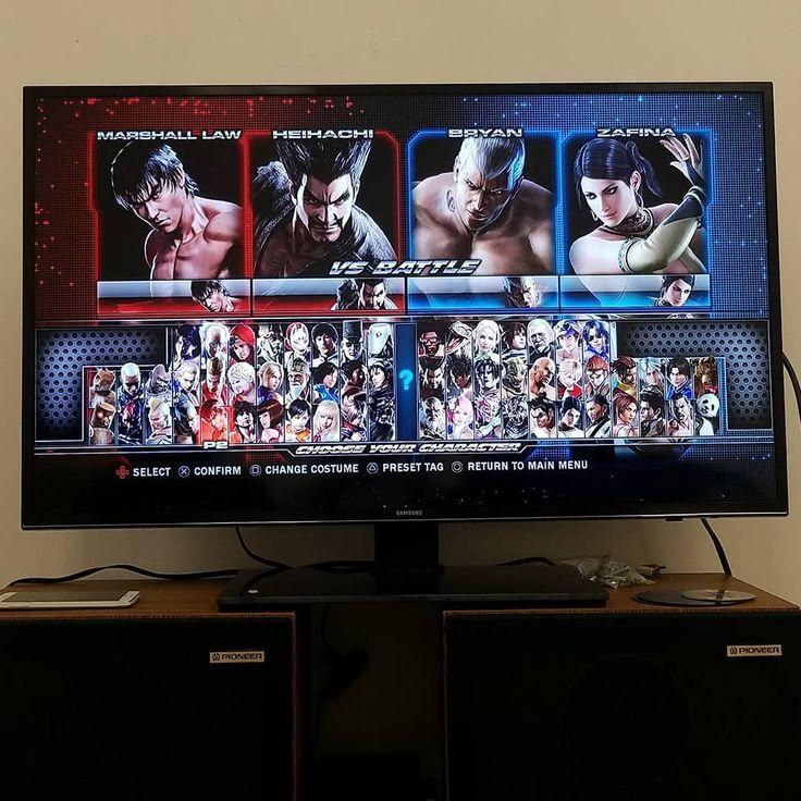 This Tekken event is going so well tonight! Patrick is unbeatable! . . . #tekken #ps3 #ps1 #ps2 #playstation #retrogamer #retrogaming #videogames #nintendo #snes #nes #xbox #n64 #soulcalibur #mortalkombat #streetfighter #metroid #megaman