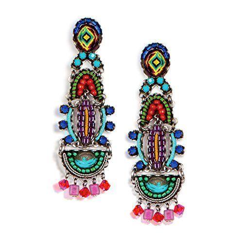 Ayala Bar, Dragon-Fruit Earrings, Fall-2014 - E1058 Price : $175.00 http://www.artazia.com/Ayala-Bar-Dragon-Fruit-Earrings-Fall-2014/dp/B00LRPZ5Y8