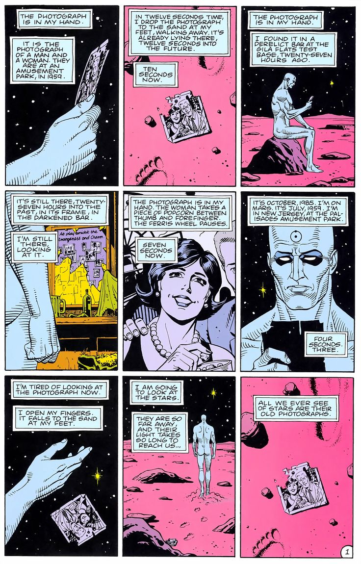 Watchmen Issue #4 - Read Watchmen Issue #4 comic online in high quality