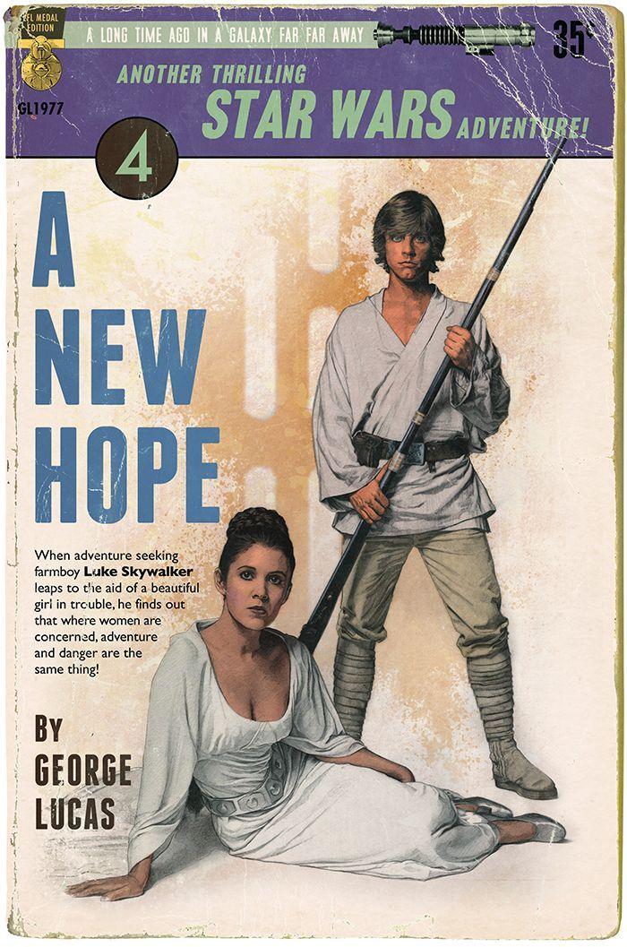 Russell Walkshace sus propias portadas de libros y pósters de Star Wars imitando un montón de estilos distintos. Versionadesde las típicas novelas románticasy se atreve con el característico estilo de los carteles hechos por Saúl Bass.                    …