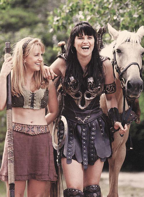 Gabrielle + Xena