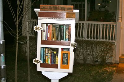 Nose in a Book: Little Free Library, Toronto