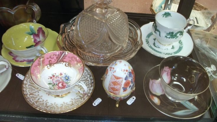 Set of Japanese & England Saucer & Tea Cup