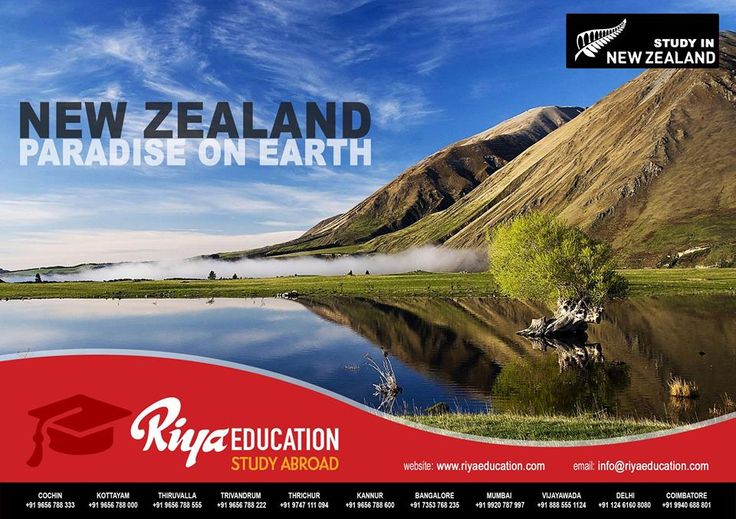 Education in New Zealand is quite affordable and students get good value for their money. The education cost varies on the level of study, complexity of the subject and course duration. For studying in New Zealand get in touch with Riya Education.