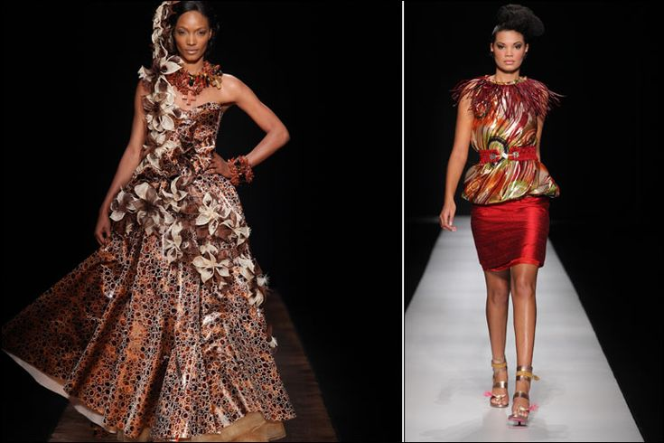 Traditional South African Dresses Designs By south african designer