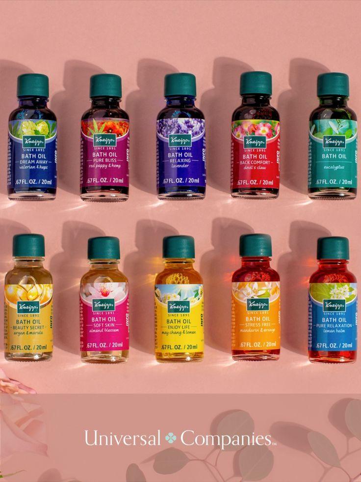 Kneipp Bathtime Me Time Bath Oil Collection 10pc In 2020 Bath Oils Herbal Bath Bath Time