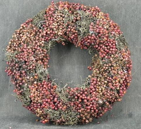 Pepperberry wreath