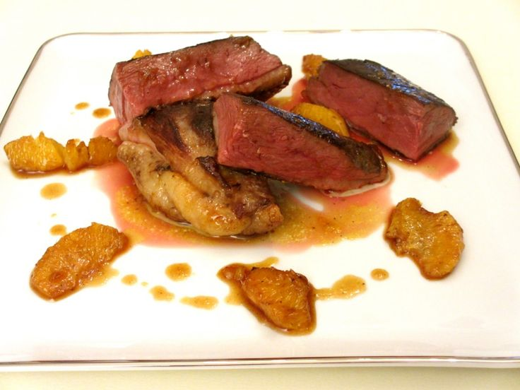 Magret de canard à l'orange, cuisson basse température : Diet & Délices - Recettes dietétiques