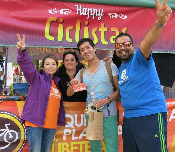 LOS HAPPYS EN LOLLAPALOOZA 2014, con nuestro amigo de Trujillo Perú!!