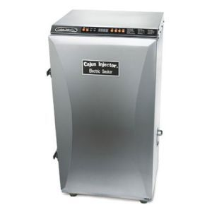Cajun Injector Electric Smoker Steel Finish