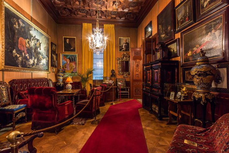 The Smoking Room in the Hallwyl House, located in Stockholm, Sweden.