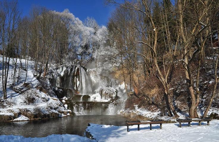 Vodopád Lúčky Chočské vrchy