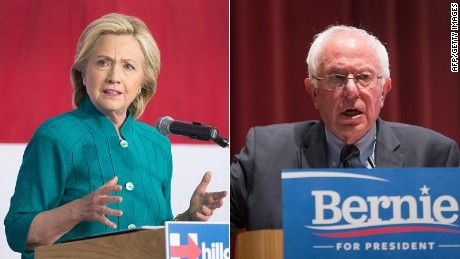 Hillary Clinton trails Vermont Sen. Bernie Sanders in the race for the Democratic nomination for president in New Hampshire, even if Vice President Joe Biden decides not to make a run for the White House, according to a new CNN/WMUR poll.