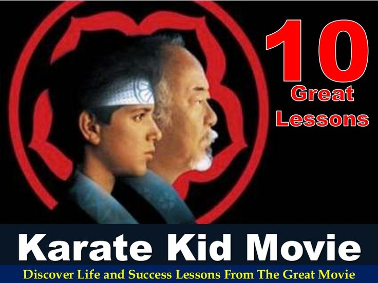 10 Great Lessons From The Karate Kid (1984) Movie