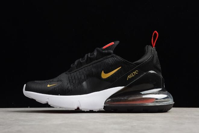 Nike Air Max 270 France Become World Cup 2018 Champions Black Gold For Sale   11cb2e2df