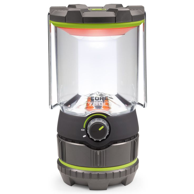 As the brightest CORE Equipment LED lantern on the market, the CORE 750 Lumen Camping Lantern features high, low, and amber night light modes and boasts an industry leading CREE® LED bulb. The adjusta