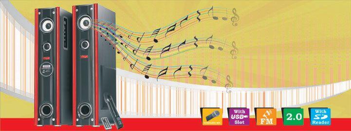 Can-West Ghana Tower Speaker