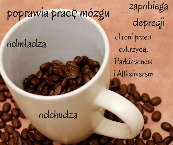 Kobieta i życie Web - blog - Kawa na zdrowie – Gorąco polecam! Kawa zapobiega chorobie altzheimera demencji cukrzycy #kawa #odchudzanie #Antyoksydanty