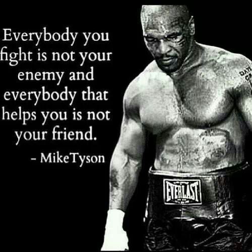 Troubles me a bit putting him on a icons page BUT he was truly formidable -Mike Tyson