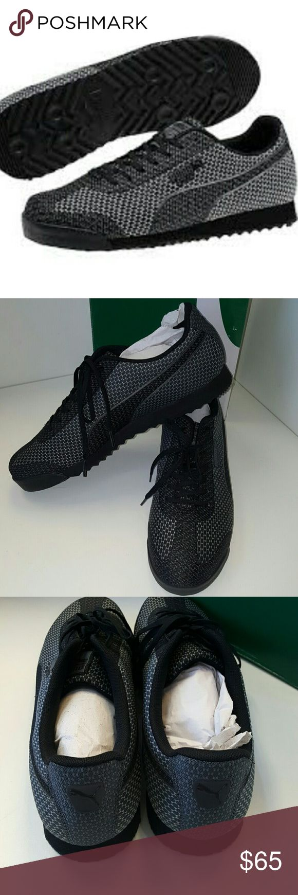 Men's Puma Shoes Brand new with tags men's black steel gray Sneaker. Puma Shoes Sneakers