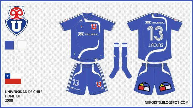 Camiseta Universidad de Chile 2008