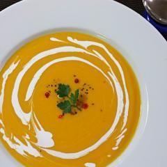 #バターナッツかぼちゃの冷製ポタージュ