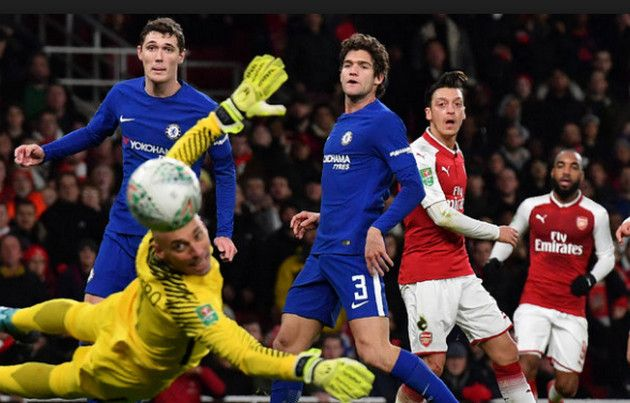 Watch Arsenal 2-1 Chelsea (2-1 agg) full match highlights.Only two days ago Sanchez transfer Machester United was completed after that result is front of you.